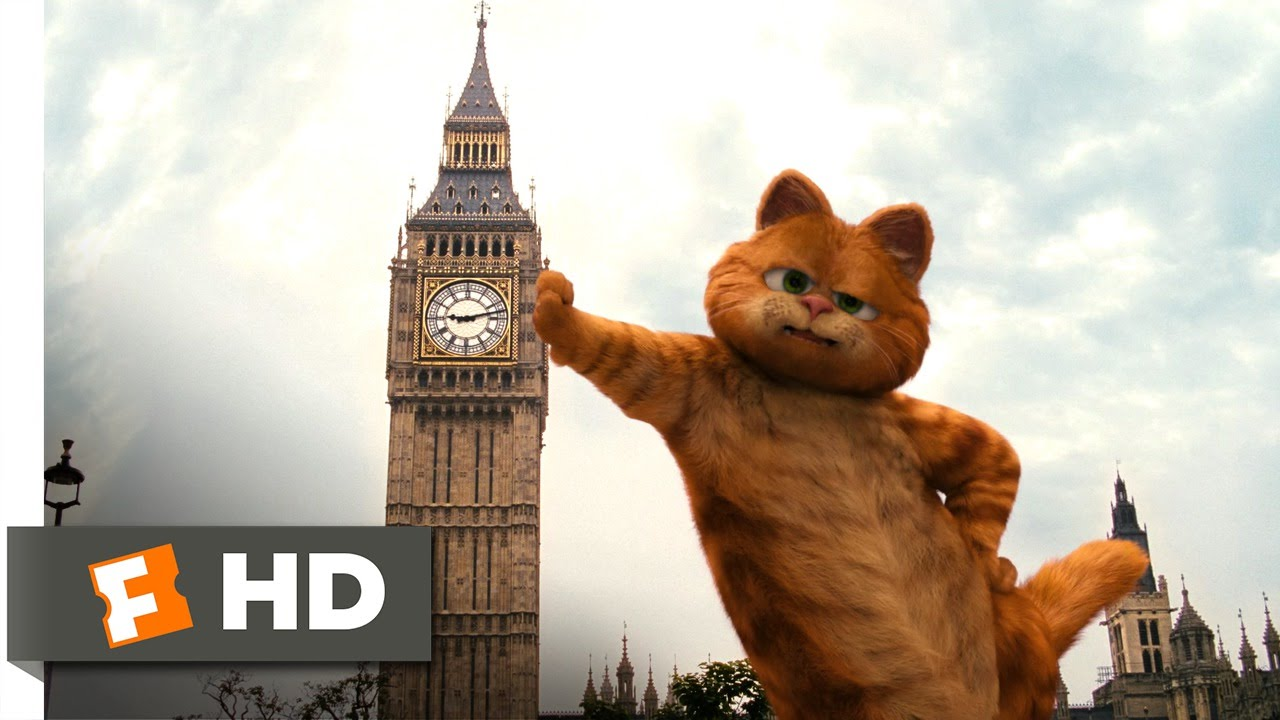 Garfield A Tail Of Two Kitties 1 5 Movie Clip The British Are Coming 2006 Hd Youtube