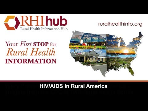 HIV/AIDS In Rural America