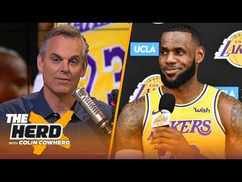 Colin evaluates LeBron James\' supporting cast ahead of the NBA 2018-19 season | NBA | THE HERD