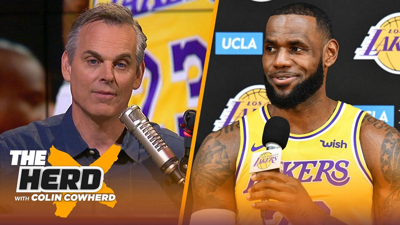 ff716c0cee69 Colin evaluates LeBron James  supporting cast ahead of the NBA 2018 ...