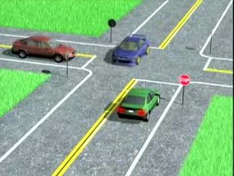 Drivers Ed : Intersections www.dmvdriverseducation.org