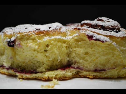 Дрожжевой Пирог со Смородиновым Вареньем | Просто, Быстро, Вкусно | Yeast Cake