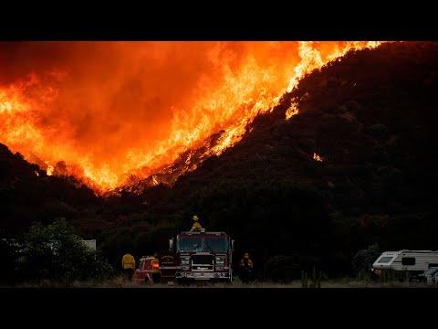'Apple Fire' burns
