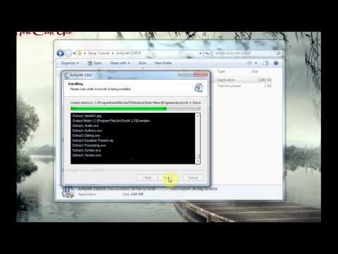 Hướng dẫn cài đặt các phần mềm, tài nguyên làm sub ( Aegisub )
