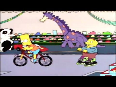 Bart y Ralph en la jugueteria - Los Simpson