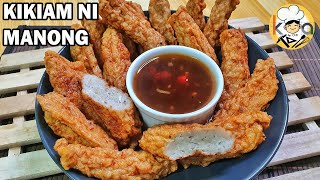 KIKIAM NI MANONG | HOW TO MAKE STREET FOOD-STYLE KIKIAM