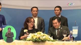 HTV9 | Khang Điền ký kết hợp tác Cty Xây dựng Hòa Bình