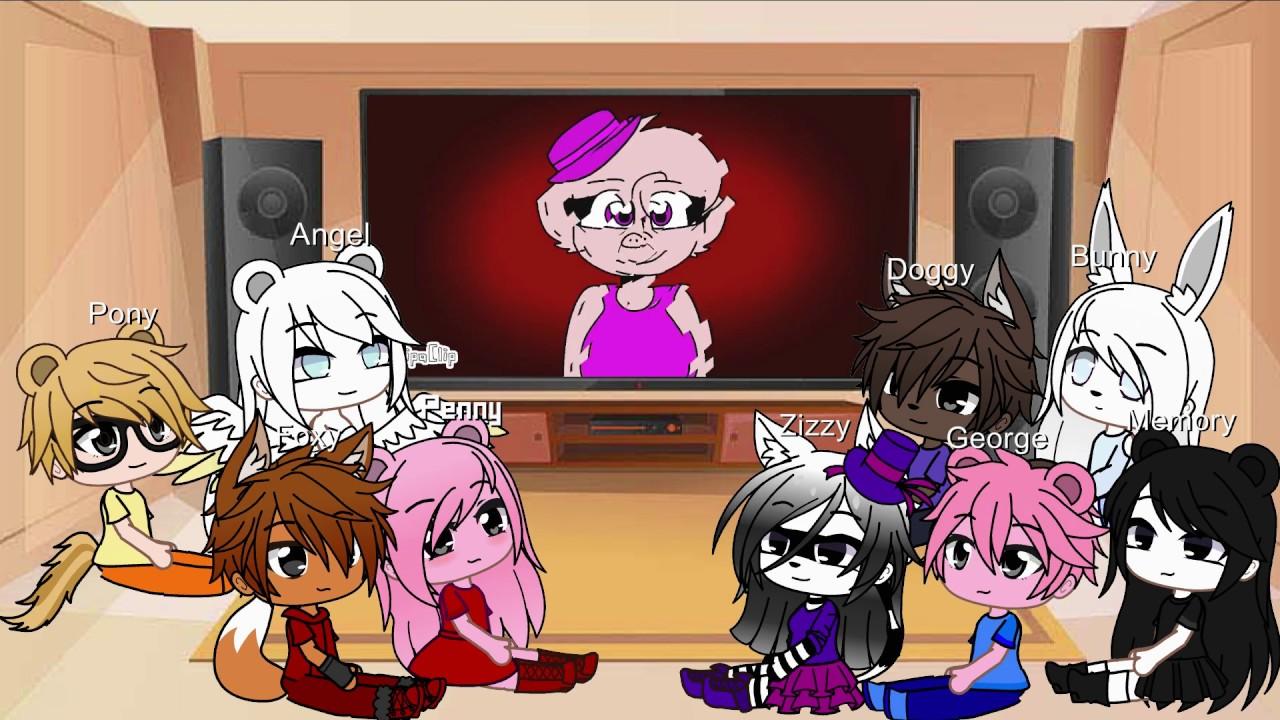 Gacha Life Roblox Piggy Gacha Club Piggy Characters React To Piggy Memes Part 5 Gacha Life Youtube