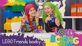 Lollyboxing 45 - LEGO Friends CUBES – NOVÉ sběratelské boxíky!
