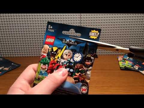 Распаковка 5 минифигурок The Lego Batman Movie Series 2 часть #2