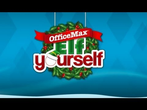ElfYourself By OfficeMax IPhone App Review (Video)