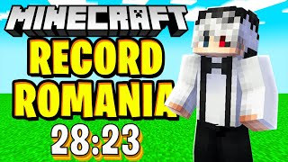 MINECRAFT 1.16 SPEEDRUN! Am facut Record in ROMANIA 🇷🇴