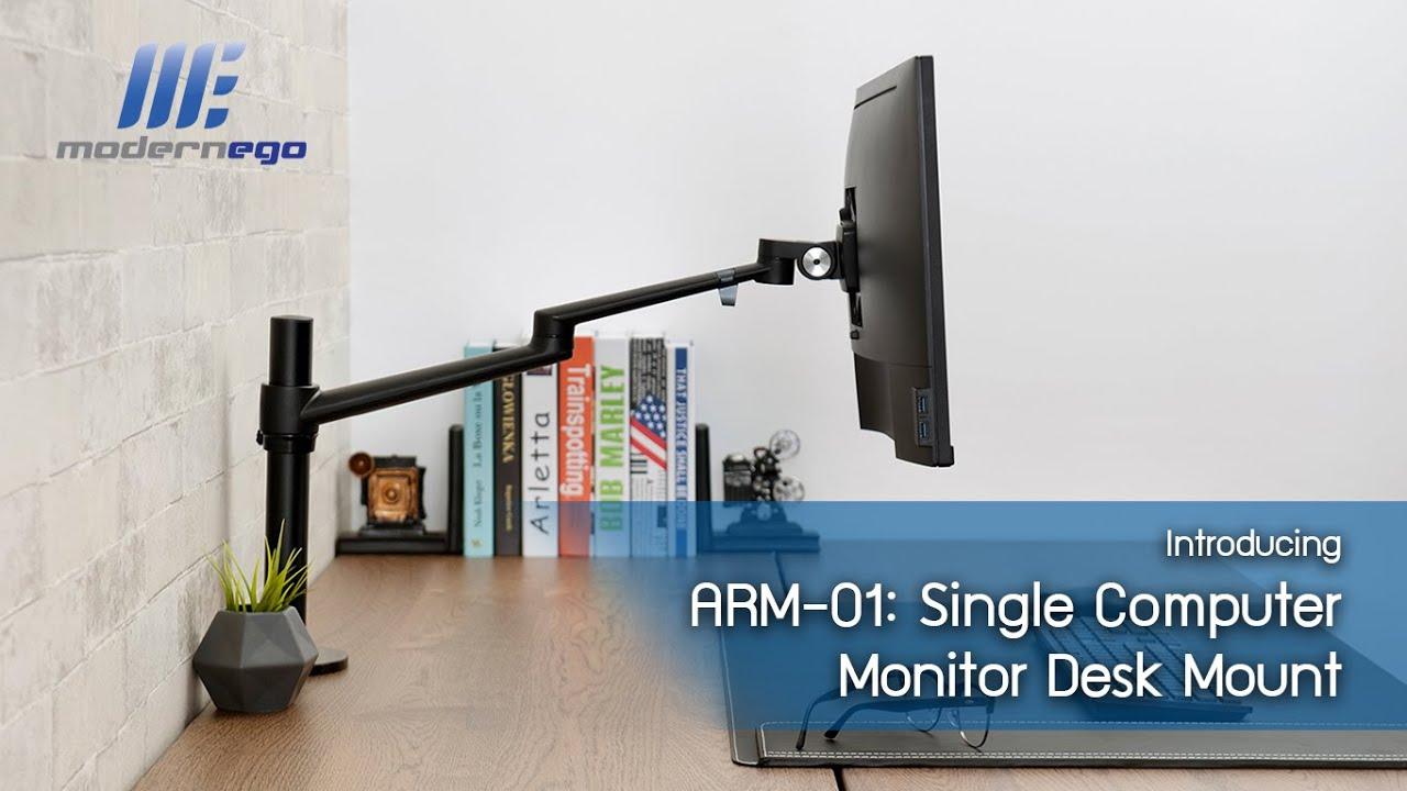 ขายึดจอคอม Single Monitor Desk Mount: ARM-01