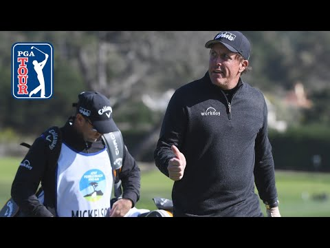 Phil Mickelson's 50 best shots