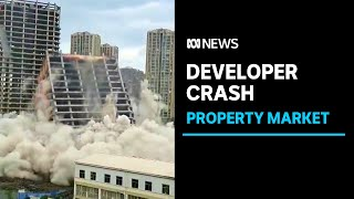 Collapse of China property giant to impact Australia's biggest export | ABC News