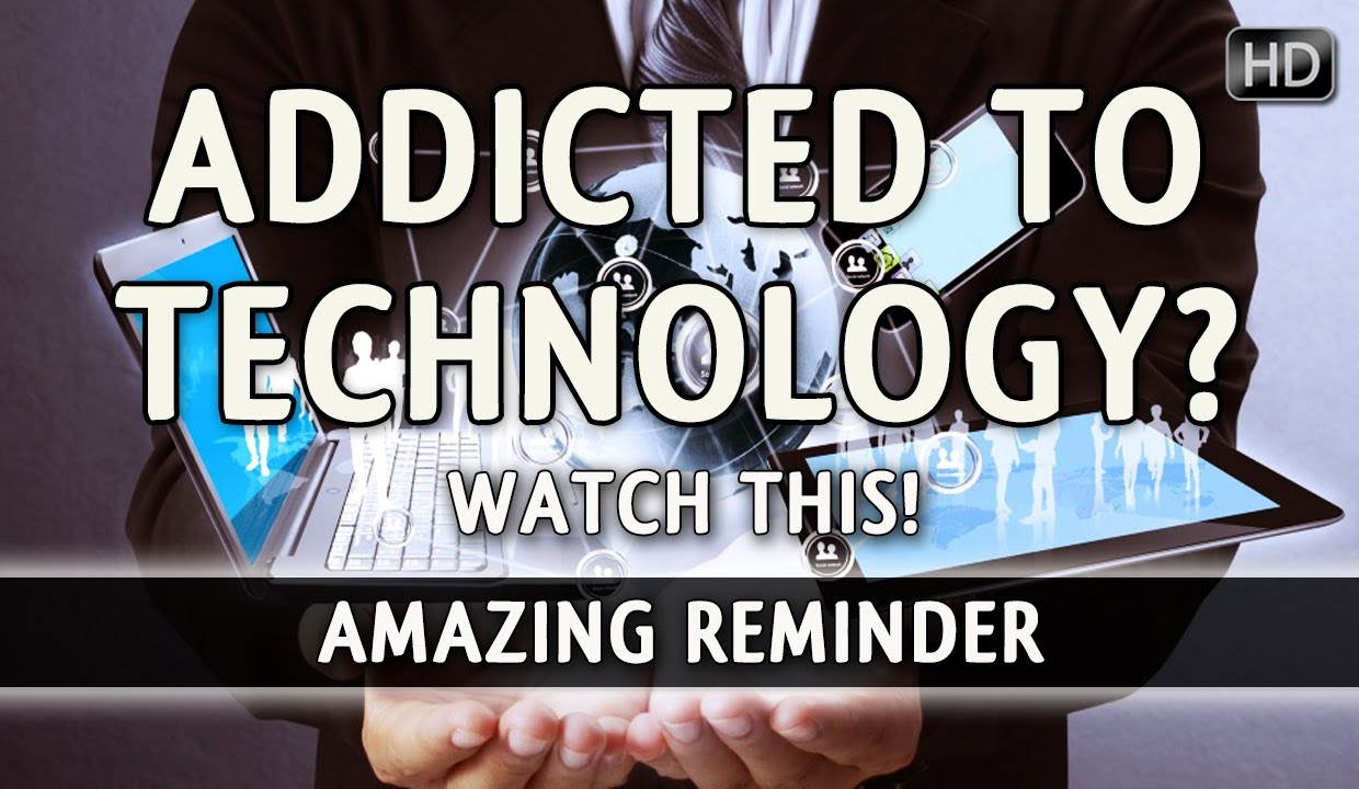 Addicted To Technology? - Watch This! ᴴᴰ ┇ Must Watch ┇ The Daily Reminder ┇
