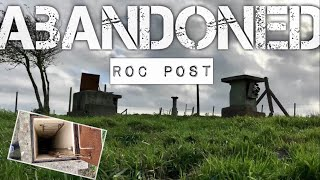 ABANDONED ROC Monitoring Post | Cold War Bunkers