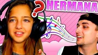 Hago bromas a MI HERMANA (de 10 años!) QUE NO ENTIENDE xD