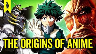 How Anime Deals With History (My Hero Academia, Attack on Titan, Gundam Wing) – Wisecrack Edition