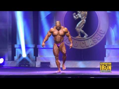 David Henry's Arnold Classic 2017 Posing Routine | Generation Iron