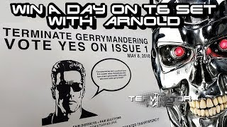 TERMINATOR 6: WIN A Day With Arnold Schwarzenegger
