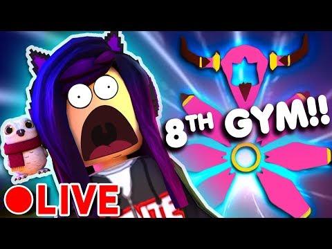BEATING THE 8th GYM! | Roblox Pokemon Brick Bronze
