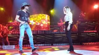 Tim McGraw and Gracie McGraw