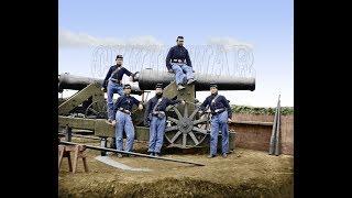 Пушки времен гражданской войны в США