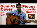 Download Sum 41 - Pieces (Acoustic Guitar Cover) MP3 song and Music Video