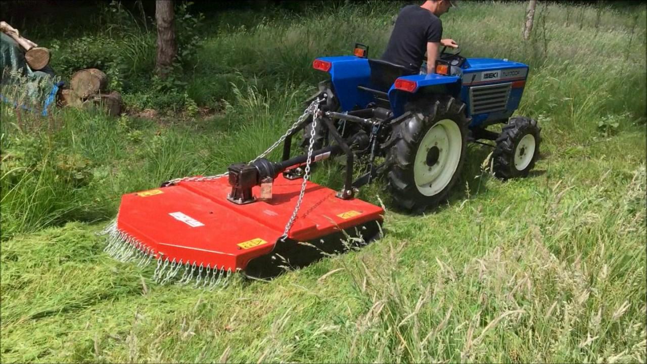 Gyrobroyeur Pour Micro Tracteur Www Lideragri Fr Youtube