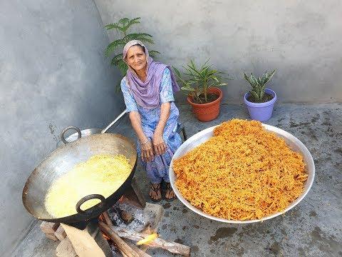 ALOO BHUJIA | Namkeen recipe Prepared By Grandma | Village Cooking | Village Food | recipe