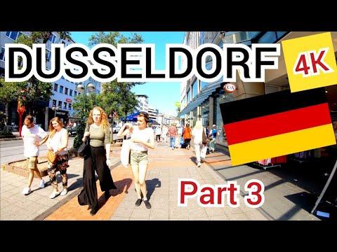 ⁴ᴷ DUSSELDORF walking tour 🇩🇪 Germany (Deutschland)