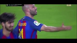 Download Mascherano First Goal for Fc Barcelona - Reaction MP3 song and Music Video