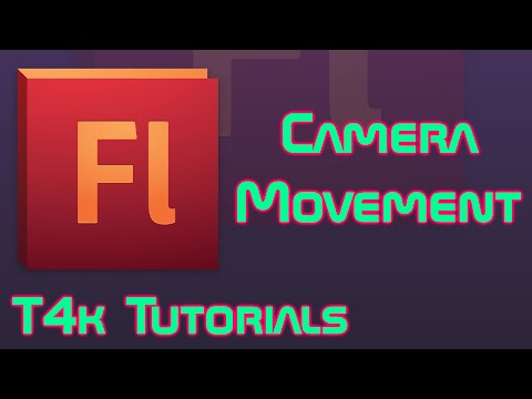 Camera Movement in Adobe Flash (WITHOUT V-Cam)    T4k Tutorials