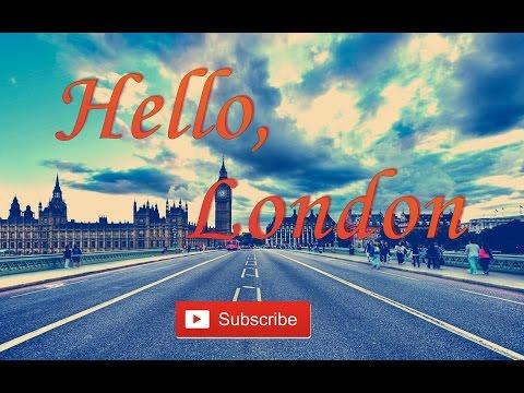 знакомство с лондоном