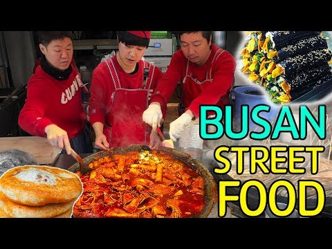 TRADITIONAL Korean STREET FOOD Market Tour in Busan South Korea Mp3