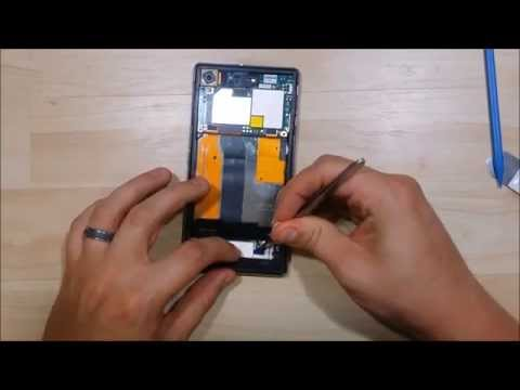 Sony Xperia Z1s Screen Replacement - Disassembly