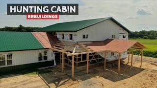 Building a Hunting Cabin 16: Building the Front Porch