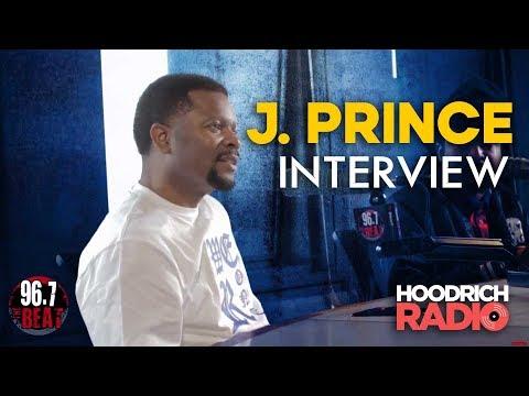 DJ Scream - J. Prince Interview w/ DJ Scream on Hoodrich Radio