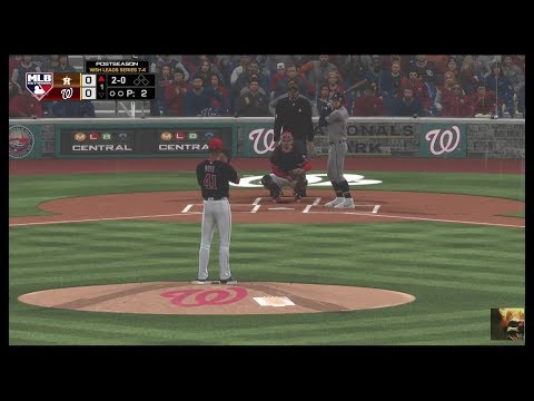 MLB The Show 19 Astros vs Nationals Game 5 World Series LIVE STREAM