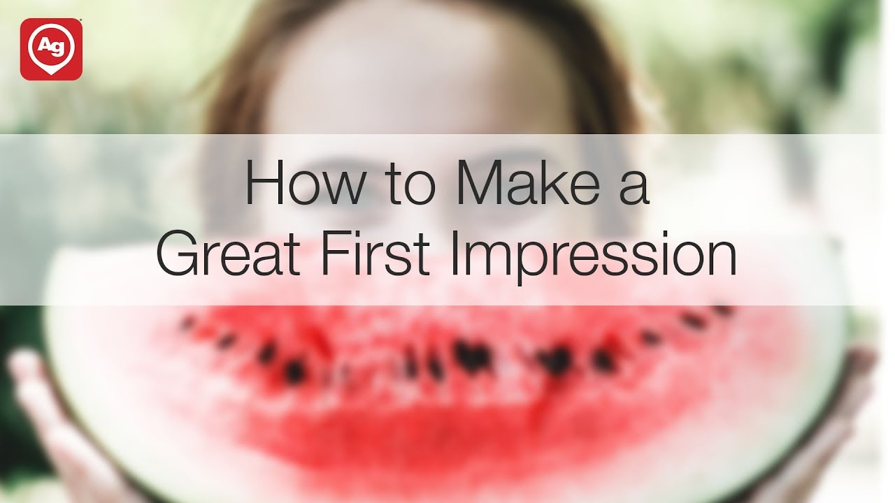 how to make great first impression