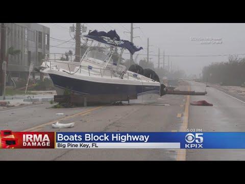 Residents In Florida Assess Hurricane Irma Damage