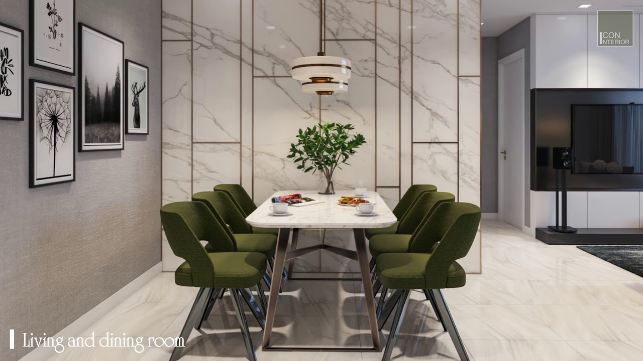 Aqua 1 – Thiết kế nội thất căn hộ cao cấp Vinhomes Golden River