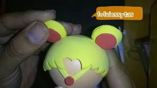 Como hacer Sailor moon chibi fofucha para cumpleaños o cualquier ocasión