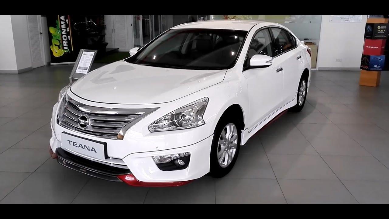 Nissan Teana Nismo 2.0XL 2017 Exterior & Interior - YouTube
