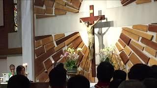 09/22/2018 Vietnamese Saturday Mass  with Deacon Ngo Dong Saint Cecilia Catholic Tustin California
