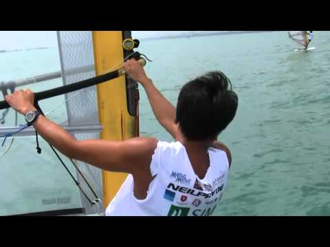 2011 RS:X Asian Championships - Day 2 Highlights Travel Video
