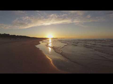 Strand, Sand und Meer - 30 Sekunden Usedom
