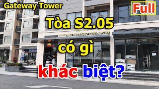 Gateway Tower (Tòa S2.05) ở Vinhomes Smart City có gì khác biệt? |VuongLand