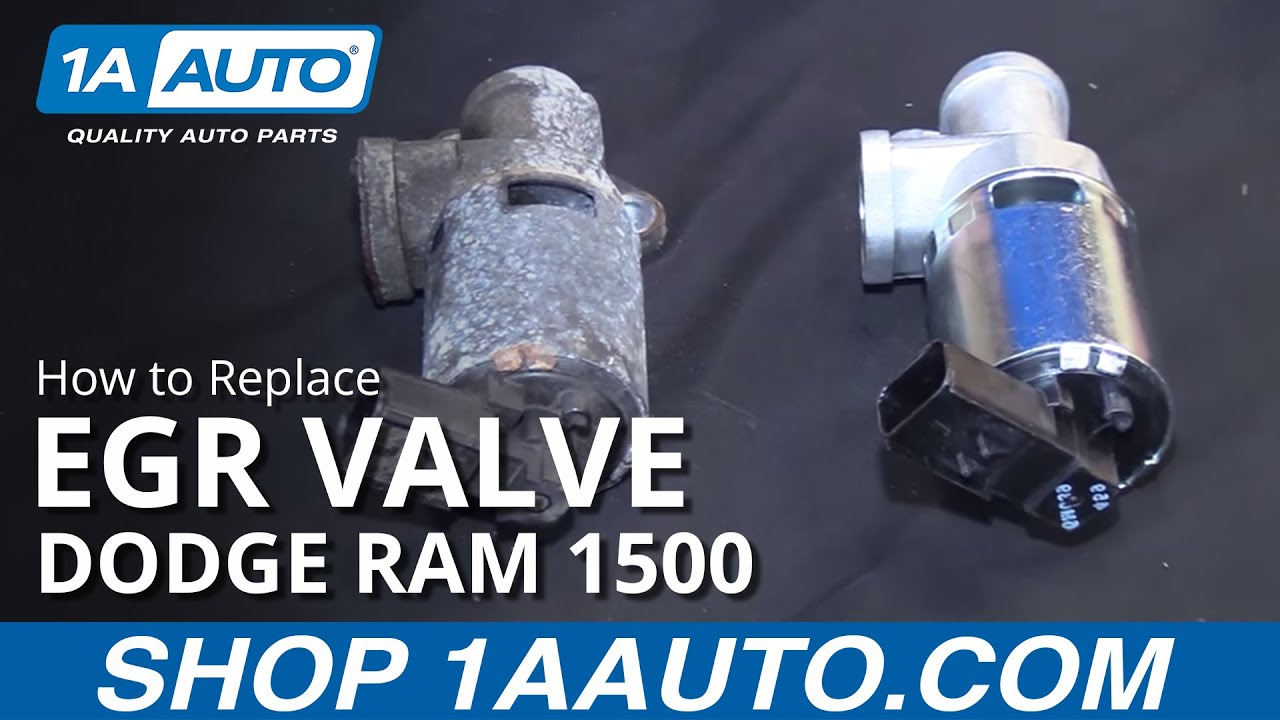 How To Install Replace Egr Valve 2006 08 Dodge Ram 1500 V8